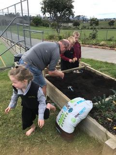 Environmental Team Preparing Planting Beds 2019_8